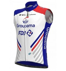 GROUPAMA FDJ windbreaker cycling vest 2020