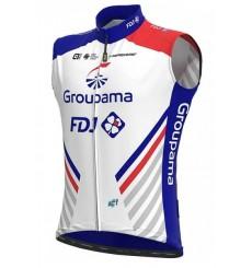 GROUPAMA FDJ windbreaker cycling vest 2020