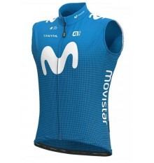 MOVISTAR windbreaker cycling vest 2020
