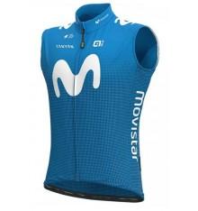 MOVISTAR windbreaker cycling vest 2020