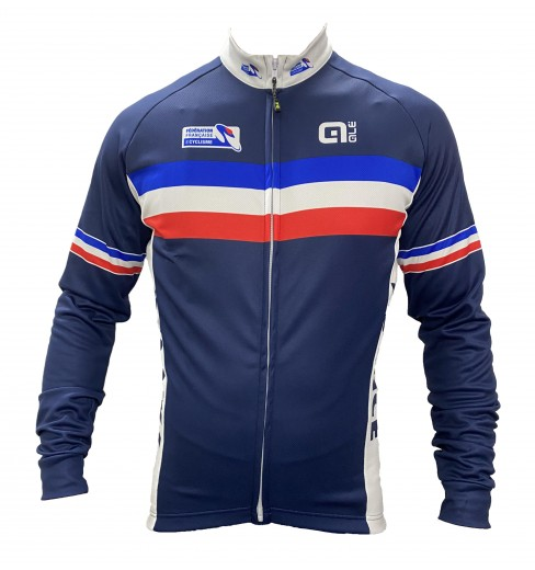 ÉQUIPE DE FRANCE long sleeve bike jersey 2020