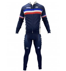 FRENCH TEAM winter cycling set