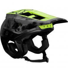 FOX RACING 2021 DROPFRAME PRO Black/Yellow Enduro helmet