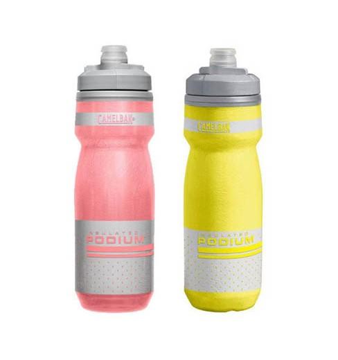 Camelbak Podium Chill Reflective bike water bottle - 620ml