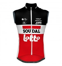 LOTTO SOUDAL windbreaker cycling vest 2020