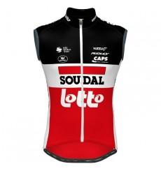 LOTTO SOUDAL windbreaker cycling vest 2020