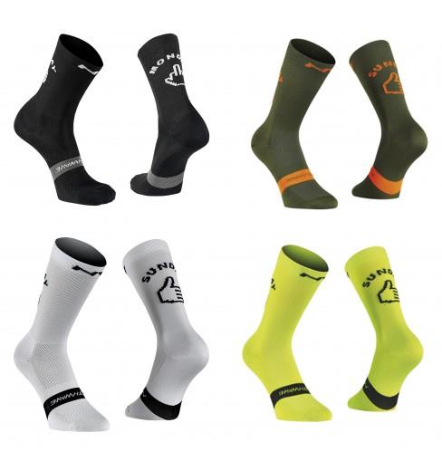 NORTHWAVE Sunday Monday cycling socks