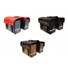 NO ONE BIKE DOUBLE REAR SIDE BAG TARPAULIN 52L