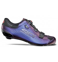 Chaussures vélo route SIDI Sixty bleu iridescent - Edition limitée