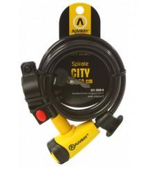 AUVRAY antivol câble vélo SPIRALE CITY D8 150CM