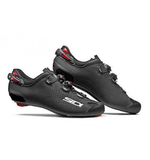 Chaussures vélo route SIDI SHOT 2 carbon noir 2021