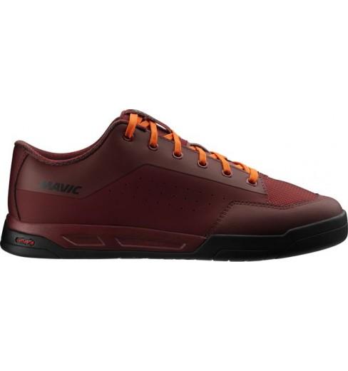 Chaussures VTT MAVIC all mountain DEEMAX ELITE FLAT Syrah 2019