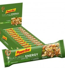 Boite de barres POWERBAR Natural Energy Cereal (24 x 40gr)