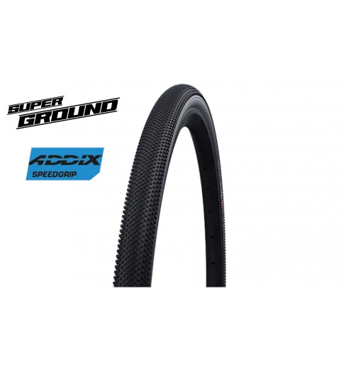 Pneu schwalbe G-One Allround - Addix SpeedGrip - Super Ground - Tubeless easy Version 700