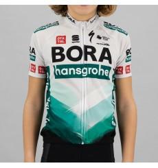 Maillot vélo manches courtes enfant BORA HANSGROHE 2021
