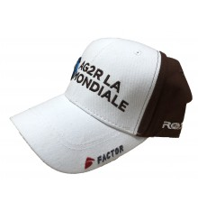 AG2R LA MONDIALE podium cycling cap with flat visor 2019