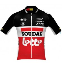 Maillot vélo manches courtes LOTTO SOUDAL PR.R 2021