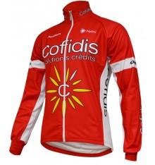 COFIDIS winter cycling jacket 2016