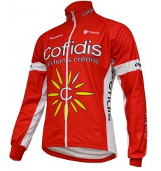 COFIDIS winter cycling jacket 2016