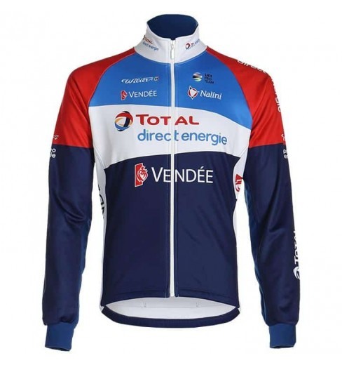 Veste cycliste hiver TOTAL DIRECT ENERGIE 2020