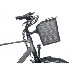Bremen KF & Basil Ahead Stemholder Front Bike Basket with Stem Attachment