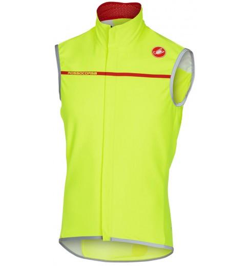 CASTELLI gilet cycliste Perfetto jaune fluo