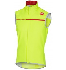 CASTELLI Perfetto cycling vest - yellow