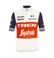 TREK-SEGAFREDO kid's short sleeve jersey 2021