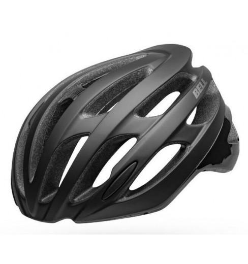 Gloss Black Infrared Bell Falcon MIPS Bike Road Helmet Matt