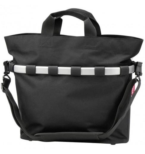 KLICKFIX Reisenthel BIKEBASKET OVAL M side bag Black