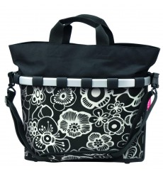 KLICKFIX Reisenthel BIKEBASKET OVAL M side bag Fleurs