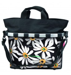 KLICKFIX Reisenthel BIKEBASKET OVAL M side bag Marguerites