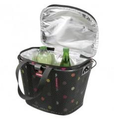 KLICKFIX Reisenthel Iso Basket Bag insulating bag for front baskets DOTS