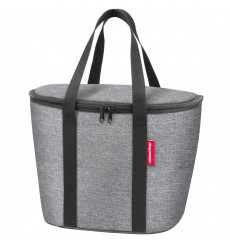 KLICKFIX Reisenthel Iso Basket Bag insulating bag for front baskets Argent