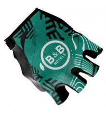B&B HOTELS P/B KTM summer cycling gloves 2021