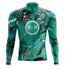 B&B HOTELS P/B KTM long sleeve bike jersey 2021
