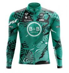 Maillot vélo manches longues B&B HOTELS P/B KTM 2021
