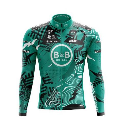 B&B HOTELS P/B KTM long sleeve bike jersey 2021