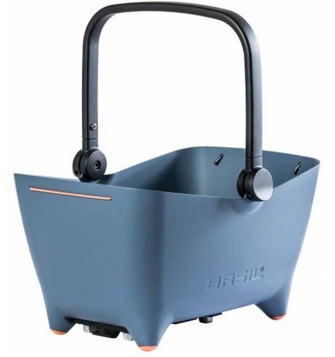 Basil AR BUDDY MIK rear dog basket