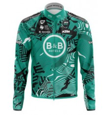 B&B HOTELS P/B KTM winter cycling jacket 2021