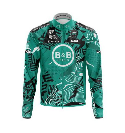 B&B HOTELS P/B KTM winter cycling jacket 2021