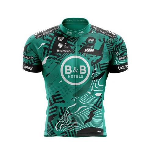 B&B HOTELS P/B KTM junior cycling jersey 2021