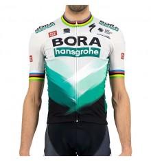 BORA HANSGROHE maillot manches courtes Champion du Monde BOMBER 2021