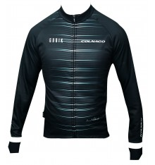 GOBIK maillot vélo manches longues COLNAGO Atomic Edition Limitée noir blanc 2021