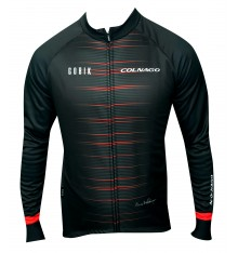 GOBIK COLNAGO Atomic long sleeve cycling jersey - 2021 Limited edition black red