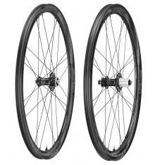 Paire de roues vélo CAMPAGNOLO Shamal Carbon Disc Brake