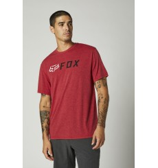 FOX RACING t-shirt manches courtes APEX TECH Rouge Chili 2021