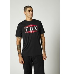 FOX RACING EMBLEM TECH Black short sleeve tee