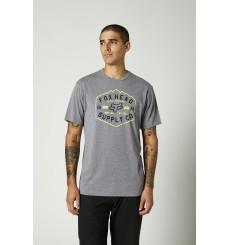 FOX RACING t-shirt manches courtes BACKBONE TECH Gris 2021