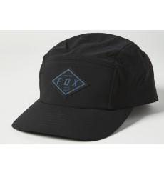 FOX RACING BADGE 5 PANEL black cap